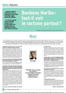 2014-01-22 - Bonbons Haribo - faut-il voir le racisme partouta